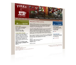 PIRKS COFFEE Logo