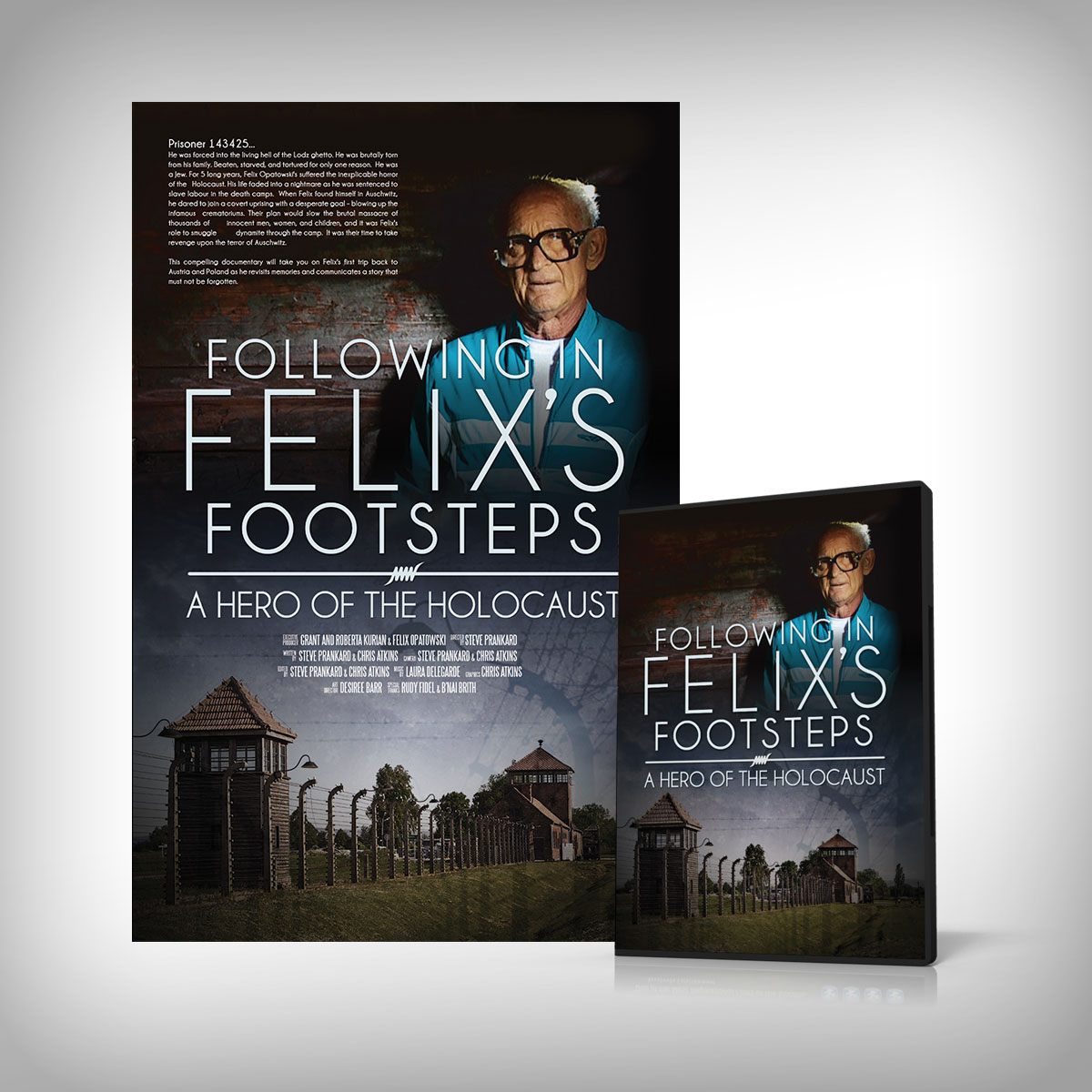 Following in Felix's Footsteps Poster and DVD Cover
